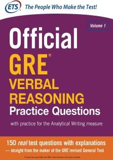 Official GRE Verbal Reasoning