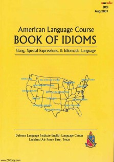 American Language Course Book of Idioms