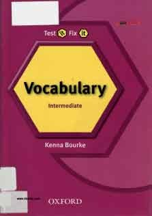 Test it Fix it Vocab Intermediate