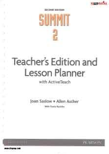 Summit 2 Teacher Book