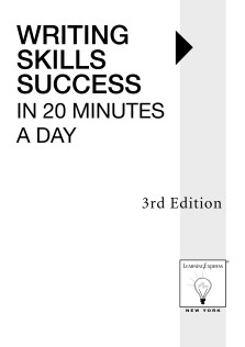 WRITING SKILLS SUCCESS IN 20 MINUTS A DAY