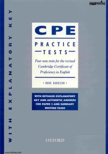 Oxford University Press Certificate In Proficiency English Tests Oxford