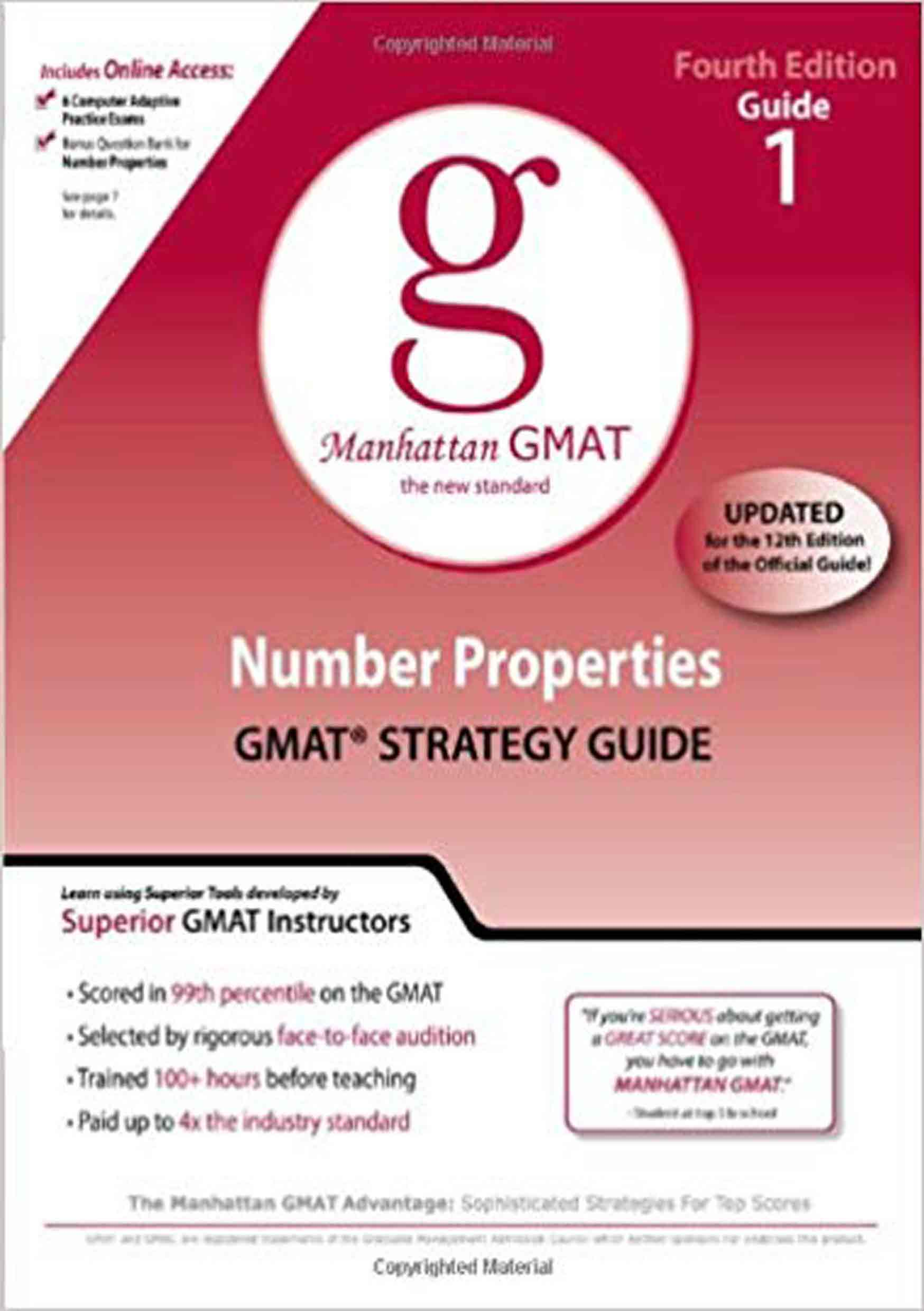 دانلود کتاب Manhattan GMAT Guide 1 : Number Properties pdf