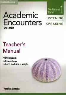 Academic Encounters Listening and Speaking 1 Teacher Book