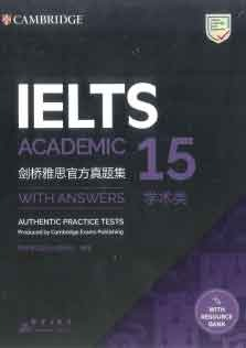 Cambridge Practice Test For IELTS Academic 15