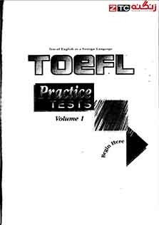 TOEFL Practice Tests Volume 1