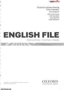 English File Elementary Teacher Book