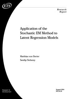 Application of Scholastic EM Method To Regression