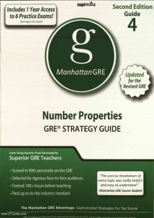 Manhattan GRE 4 Number Properties GRE STRATEGY GUIDE