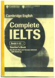 Complete IELTS 5-6.5 Teacher Book