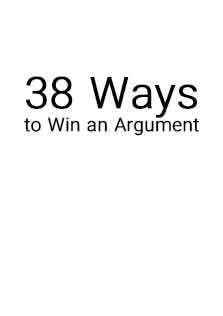 38Ways To Win An Argument