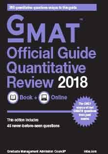 GMAT Official Guide Quantitative 2018