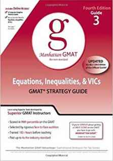 دانلود کتاب MANHATTAN GMAT:Equations, Inequalities, and VIC