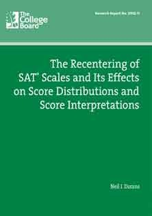 SAT Scales And Score Distribution
