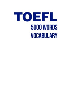 دانلود کتاب TOEFL 5000 Words Vocabulary pdf