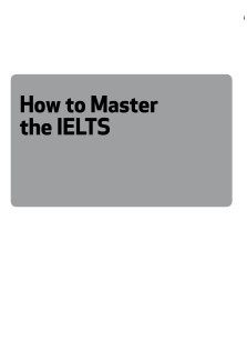 How To Master The IELTS