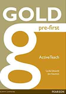 Gold Pre First Course Book