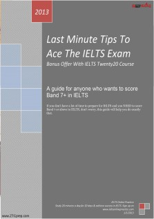 Last Minute Tips To Ace The IELTS Exam