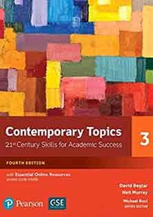 Contemporary Topics Level 3