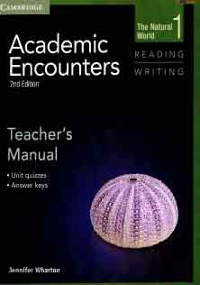 Academic Encounters Reading and Writing 1 Teacher Book