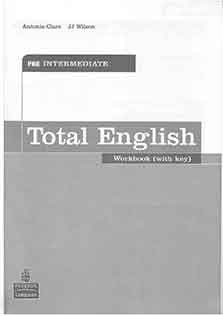 New Total English Pre-Intermediate Work Book