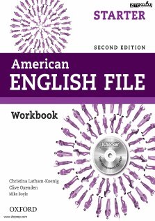 American English File Starter Work Book