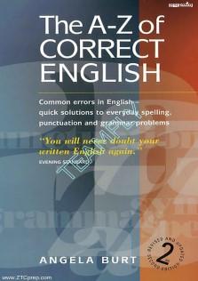 The A-Z Correct English