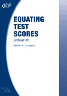 Equating Tests Score