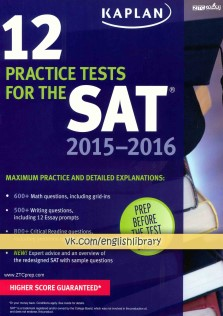 12Practice Tests For The SAT
