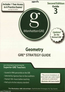Manhattan GRE 3 Geometry GRE STRATEGY GUIDE