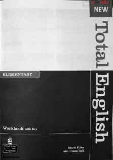 New Total English Elementary Work Book