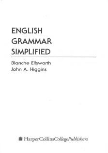 English Grammar Simplified