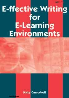 Effective Writing For E-Learning Environments