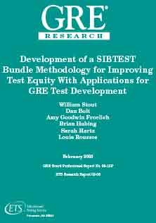 Improving Test Equity