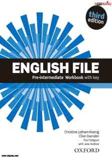 English File Pre-Intermediate Work Book