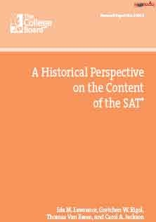 Historical Perspective of SAT