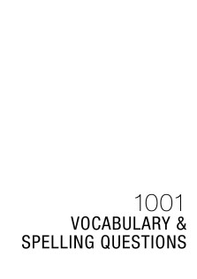 1001Vocabulary and spelling