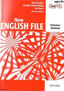 Oxfords New English File Elementary Workbook