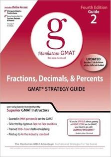 Manhattan GMAT 2 Fractions Decimals and Percents