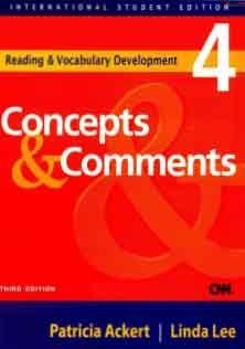 Reading and Vocabulary Development 4