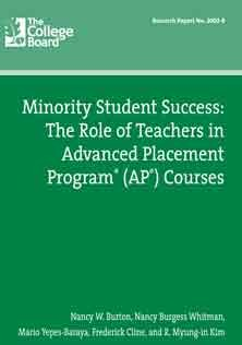 Role of Teachers in Advanced Placement Test
