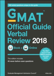 GMAT Official Guide Verbal Review 2018