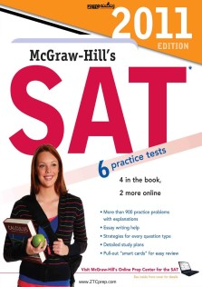 McGraw-Hill SAT 6 practice tests