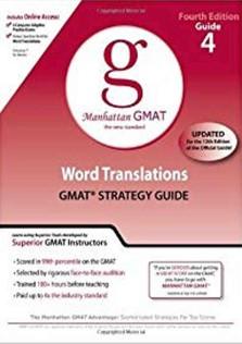 Manhattan GMAT 4 Word Translations