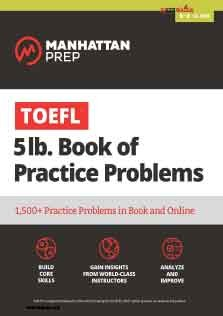 TOEFL 5lb Book Of Practice Problems Online Book