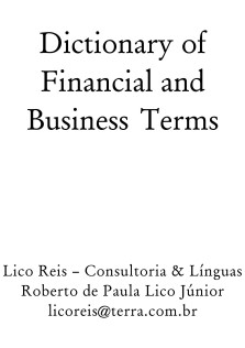 Dictionary Financial And Business Terms