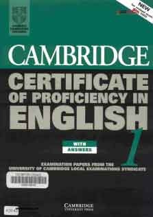 Cambridge University Press Cambridge Certificate Of Proficiency