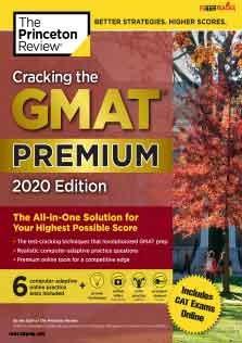 Cracking The GMAT Premium practice test 2020