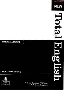 New Total English Intermediate Work Book
