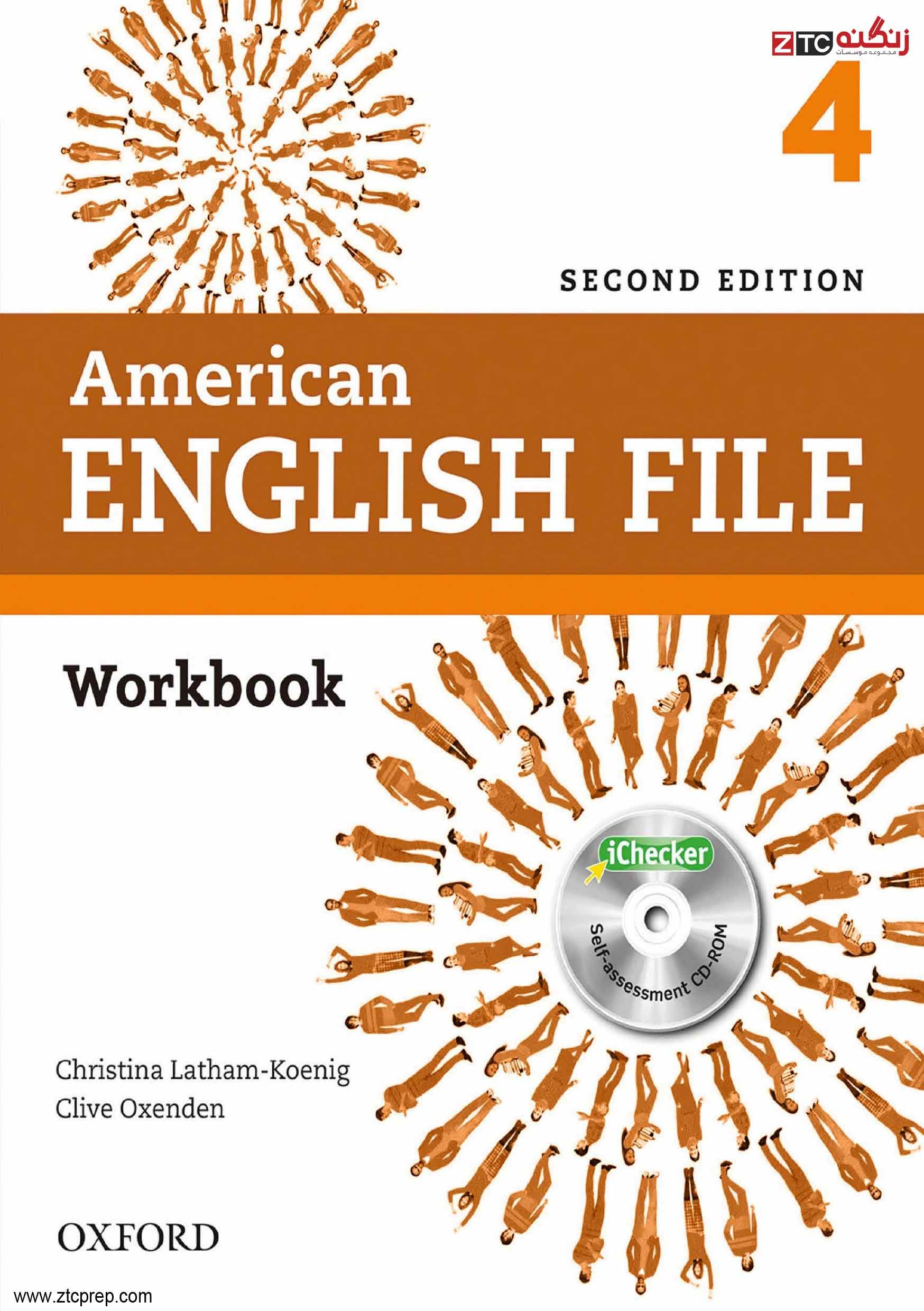 American English File 4 Work Book